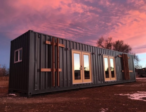 Shipping Container Home Made for Two