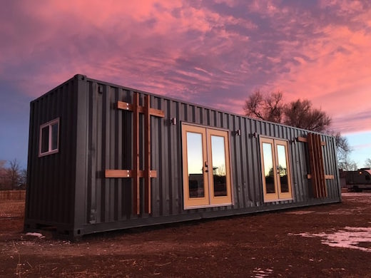 Shipping Container Architecture Is Not Getting As Much Press As It Once  Did, But People Are Still Repurposing Cargo Containers To Build Inexpensive  And ...