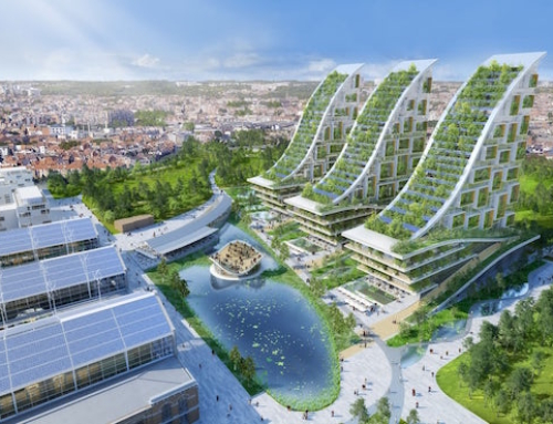 A Super Green Building Planned for Brussels