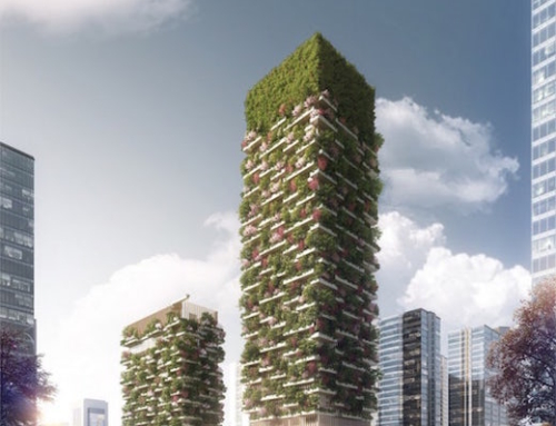 The City of Nanjing Will Soon Get a Vertical Forest