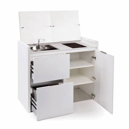 Jetson Green All In One Kitchen Unit