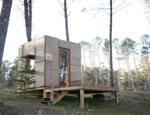 Tiny House Made of Cork