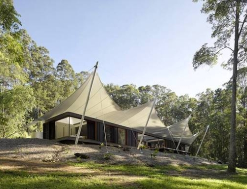 Tent House Brings Nature Inside