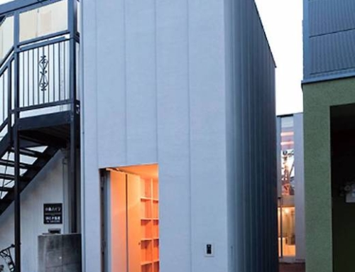 Home in Japan Scaled to Fit and Irregular Lot