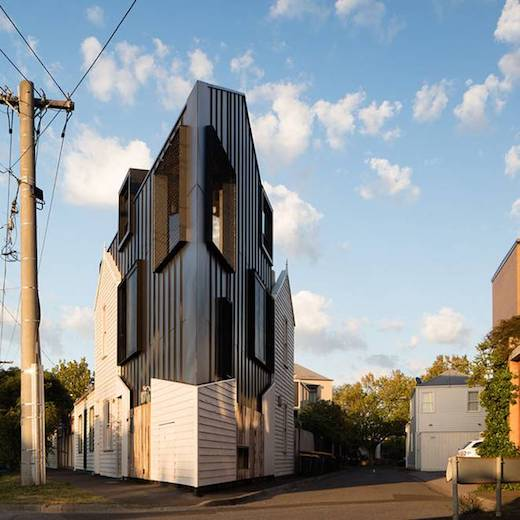 Jetson Green Modern House Built Out of Repurposed Materials