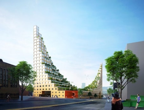Hanging Gardens Tower Proposed for Birmingham