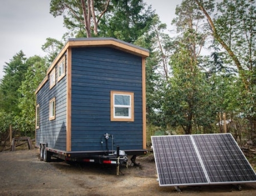 Tiny Off-The-Grid Home Full of Bells and Whistles