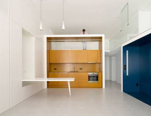Former Offices Turned Into Studio Apartments