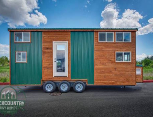 Tiny Home That Offers Plenty of Storage Space