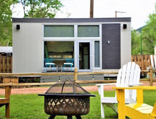 Tiny Home with a Steel Frame