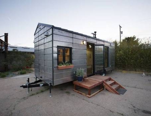 Tiny House Made of CNC-cut Panels