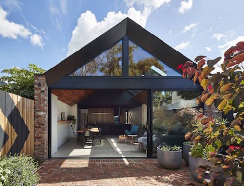 A Former Factory Worker's Cottage Converted into a Home