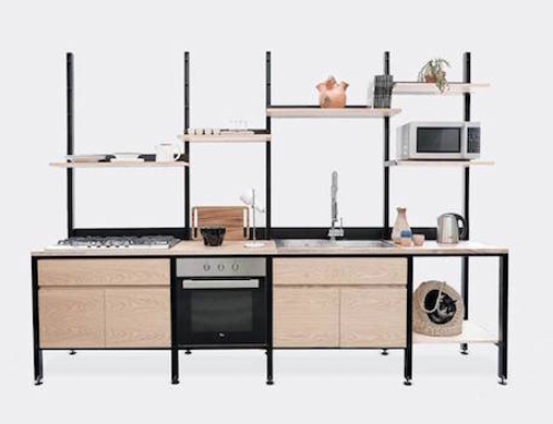 Stylish Kitchen That Can Adapt to Small Spaces