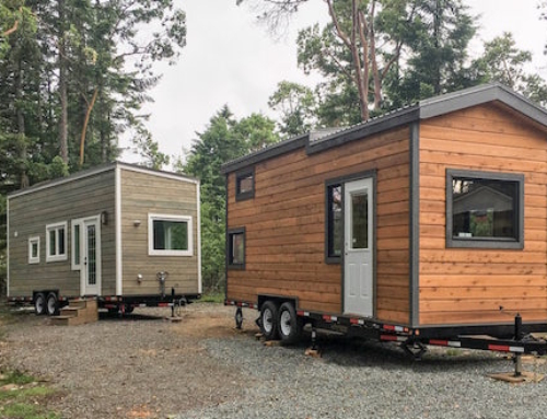 Tiny House That Has a Bathroom With a View
