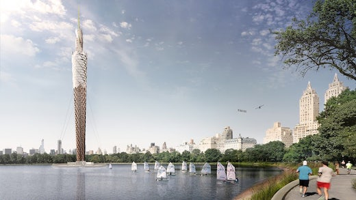 World's Tallest Timber Tower Might Get Built in NYC