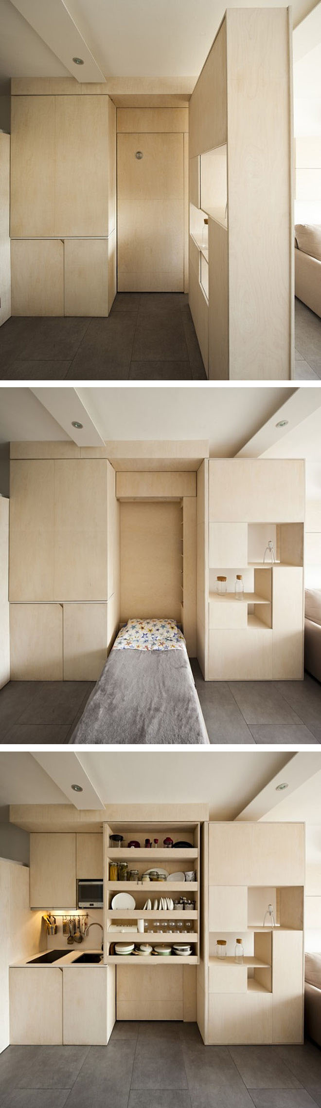 Jetson Green - Micro apartment turned into a family home with ...