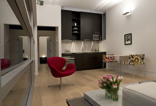Living-unit-interior
