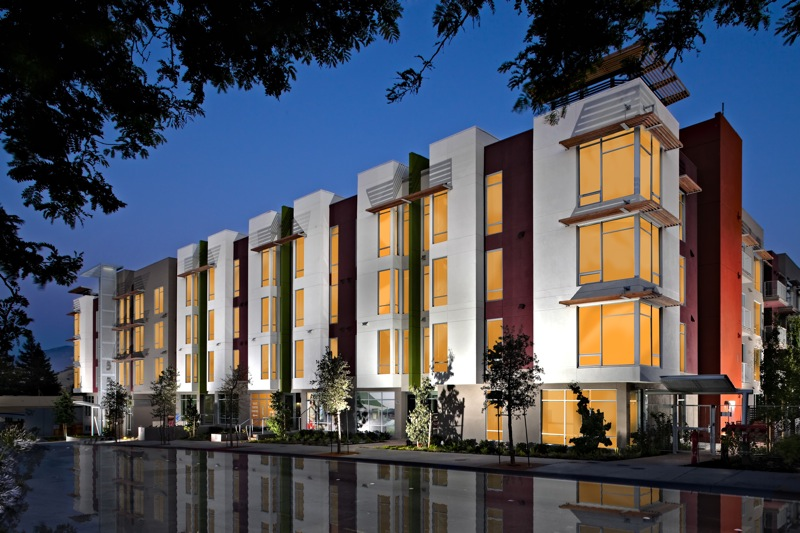 Front Elevation Of Apartment Buildings : Jetson green townhouse