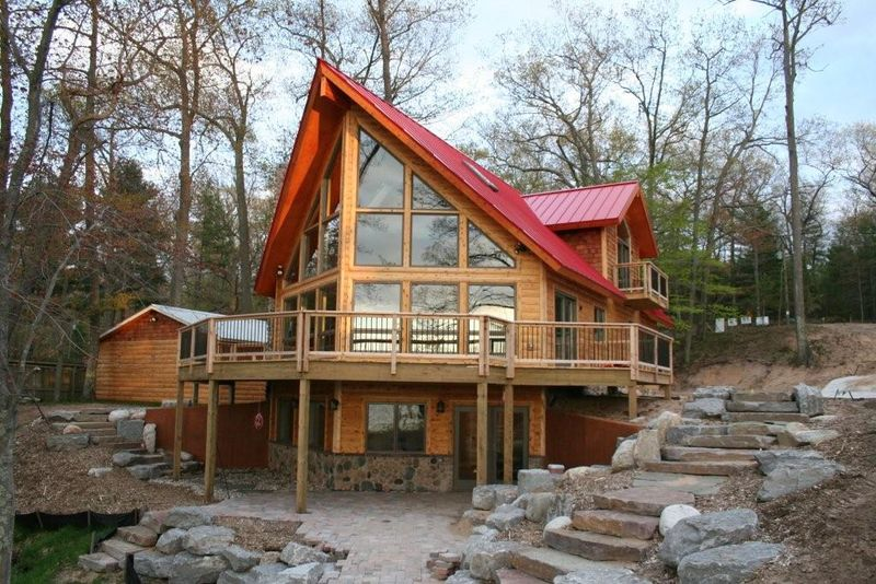 Jetson Green Nation S First Leed Platinum Log Home