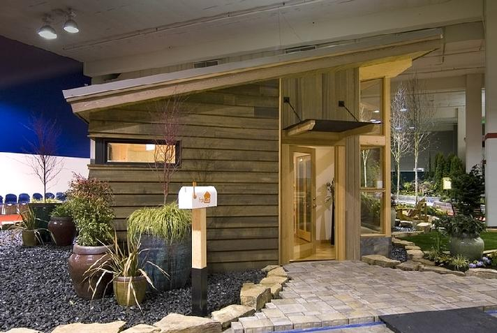 Jetson green stylish new green prefab from fabcab for Prefabricated homes seattle