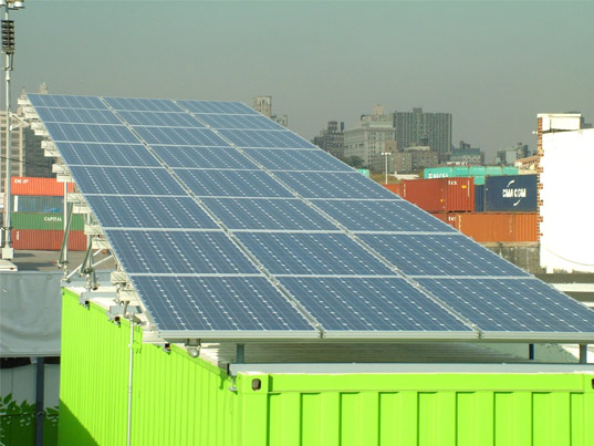 Jetson Green Container Solar Charging Station In Ny