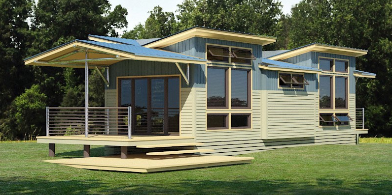 Jetson Green A Small Osprey Eco Cottage Has Landed
