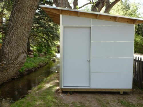Studio-shed-boulder-door