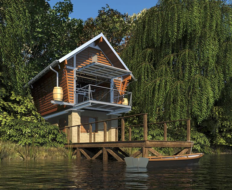 Jetson green tiny eco friendly prefab called the crib for Eco homes canada