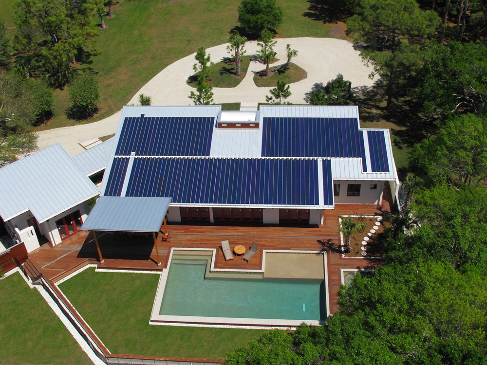 Jetson green the power haus 22 hers index home for Solar powered home designs