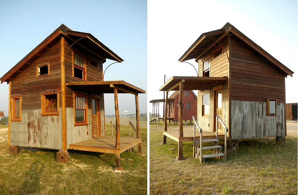 Pure Salvage Tiny House For Living