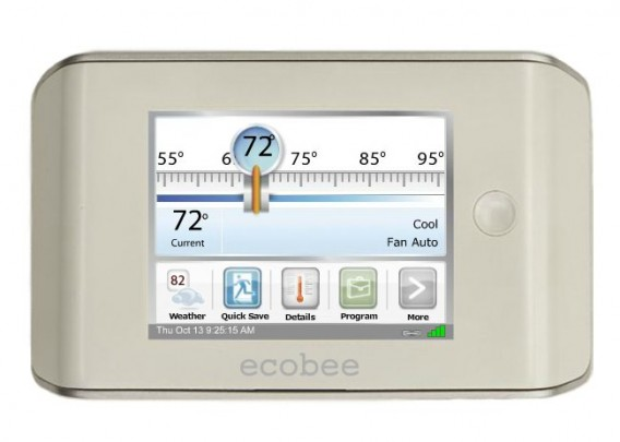 ecobee wireless smart thermostat