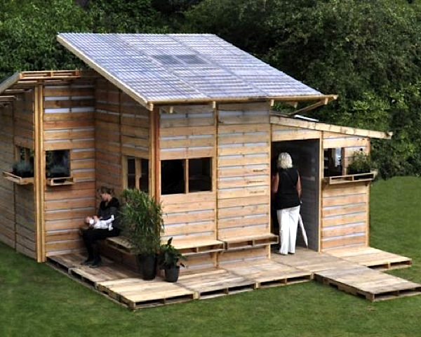 Jetson Green Pallet House Prototype By I Beam Design
