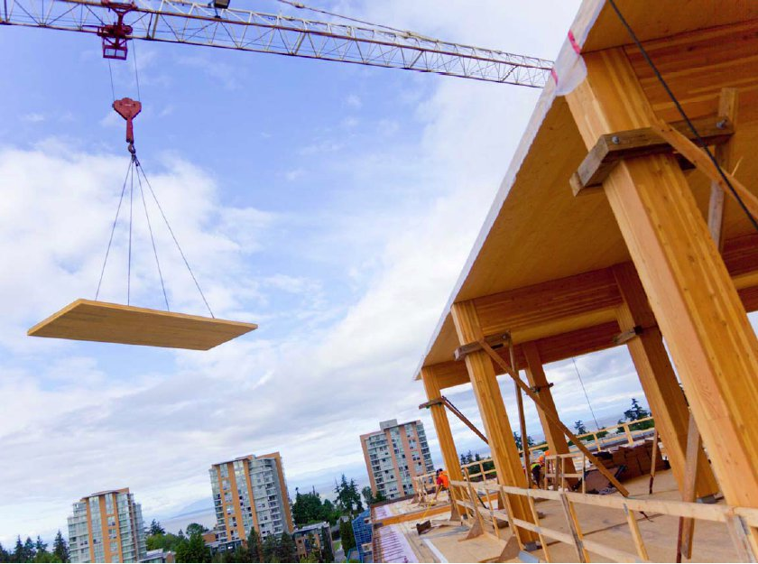 Jetson green cross laminated timber opens new