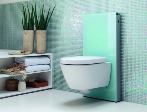 Monolith is a Wall-Mount Efficient Toilet