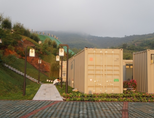 Five-Star Luxe Container Hotel in China