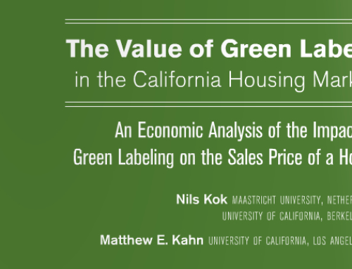 Study: Eco Labels Influence Home Values