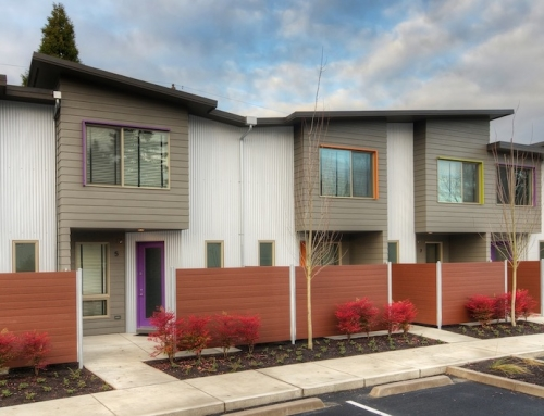 Efficient Greenway Townhouses in Oregon