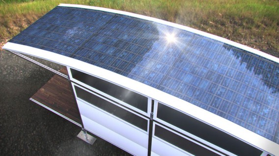 AbleNook Mini Houses Modular Home Solar Roof