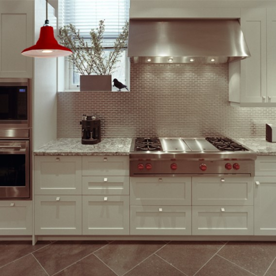 Modern Kitchen LED Red Cherry Aero
