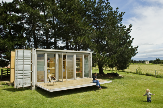 Port a Bach portable container home external