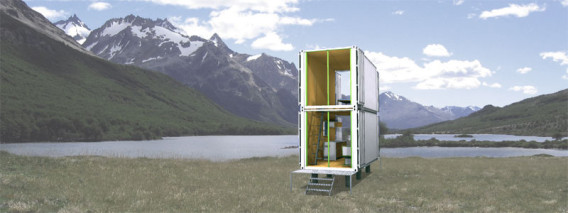 Shipping Container Modular Home double story