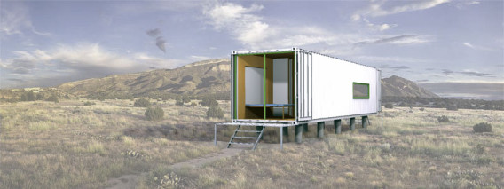 Shipping Container Modular Home External outdoors