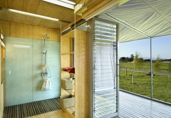Port a Bach portable container home internal