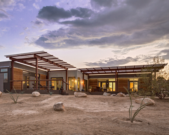 Jetson Green Blu Home Builds Joshua Tree Vacation Home