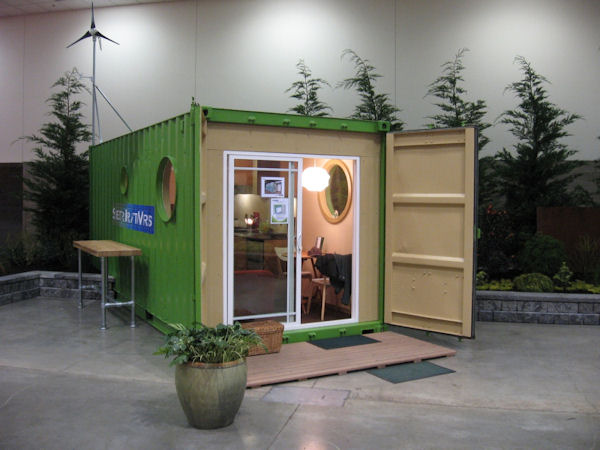 Jetson green shelterkraft werks designs and builds for Amenager un container