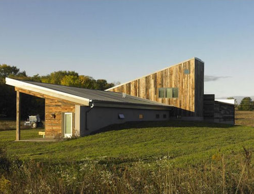 Net Zero BARNagain Uses Reclaimed Barn Wood to Achieve LEED Platinum