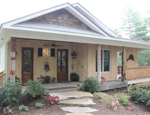 Salvaged Old-World Charm Meets Modern-Day Efficiency in S.C. Cabin