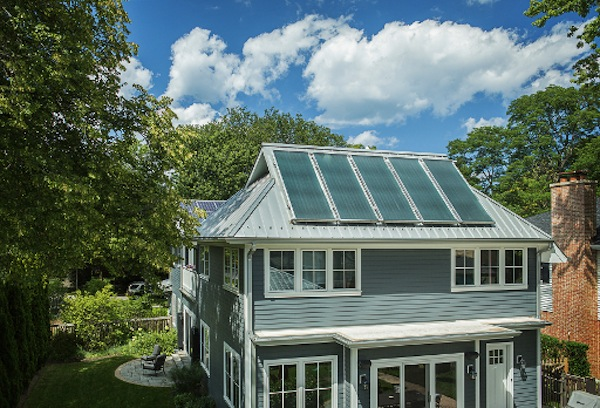 Jetson Green First Leed Platinum Home Built In North