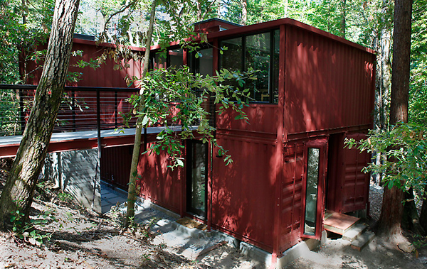 Merveilleux Jetson Green Shipping Container Cabin In The Woods