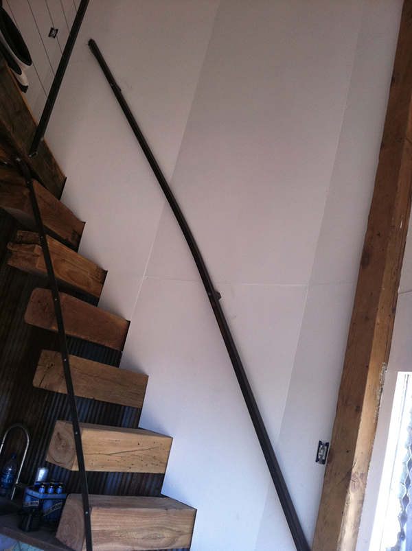 finished stairs